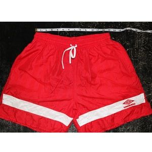 vintage Umbro exercise shorts!